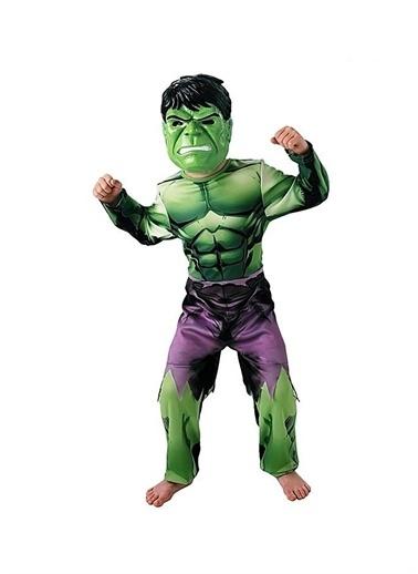 Sunman Sunman Oyuncak Dünyası Renkli Erkek Çocuk Hulk Kostümü Renkli